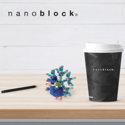 NBC-142 Nanoblock Pavone