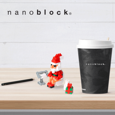NB-C156 Nanoblock Babbo Natale al bagno