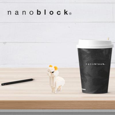 NBC-008 Nanoblock Alpaca