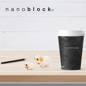 NBC-128 Nanoblock Mamma pecora agnellino