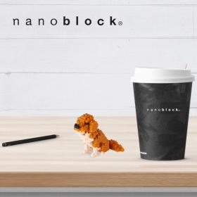 NBC-168 Nanoblock Golden retriever