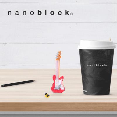NBC-171 Nanoblock chitarra elettrica rossa