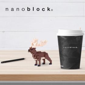 NBC-187 Nanoblock alce