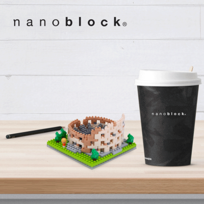NBH-121 Nanoblock Colosseo