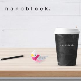 NBC-140 Nanoblock Pappagallo rosa