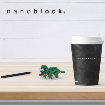NBC-112 Nanoblock triceratopo