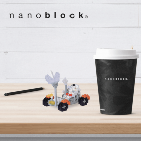 NBH-035 Nanoblock rover lunare