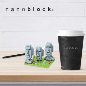 NBH-099 Nanoblock statue Moai isola di Pasqua