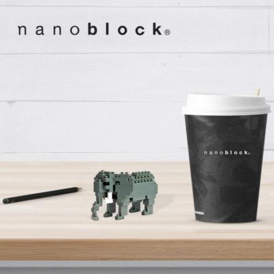 NBC-035 Nanoblock Elefante