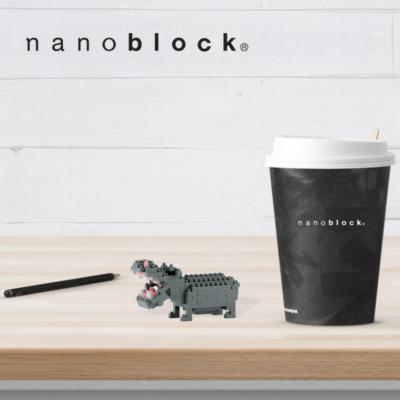 NBC-049 Nanoblock Ippopotamo