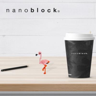 NBC-055 Nanoblock Fenicottero