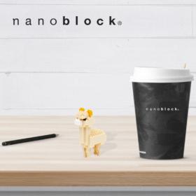 NBC-079 Nanoblock Alpaca beige