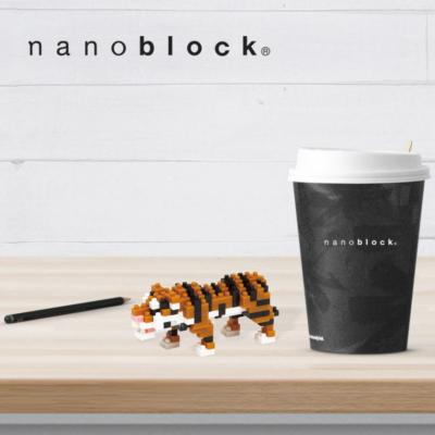 NBC-104 Nanoblock Tigre