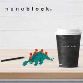 NBC-113 Nanoblock Stegosauro