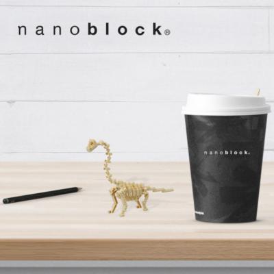 NBC-114 Nanoblock Scheletro Bachiosauro
