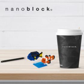 NBC-118 Nanoblock Pesce Pagliaccio e Chirurgo