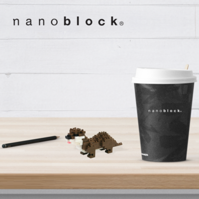 NBC-119 Nanoblock Lontra
