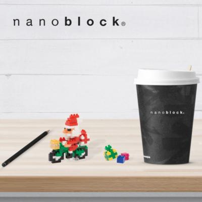 NBC-126 Nanoblock Babbo Natale in bicicletta