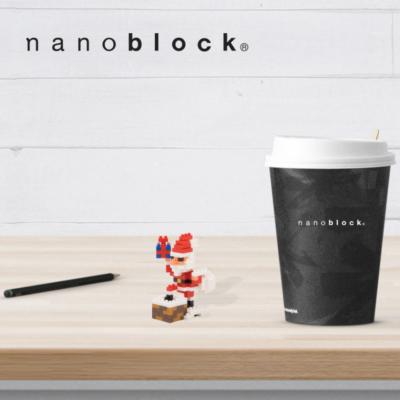NBC-127 Nanoblock Babbo Natale sul camino