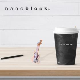 NBC-147 Nanoblock Chitarra elettrica avorio