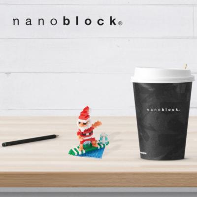 NBC-153 Nanoblock Babbo Natale Surf 1