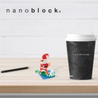 NBC-153 Nanoblock Babbo Natale Surf 2