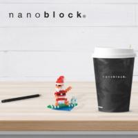 NBC-153 Nanoblock Babbo Natale Surf 3