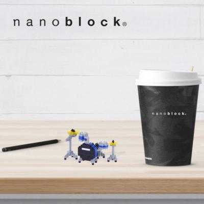 NBC-172 Nanoblock Batteria blu