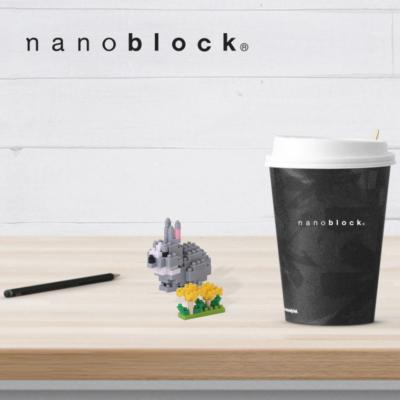 NBC-179 Nanoblock Coniglio grigio