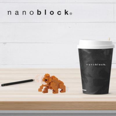 NBC-186 Nanoblock Mammut