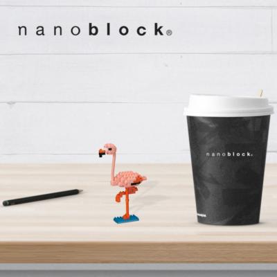 NBC-204 Nanoblock Fenicottero Nuovo