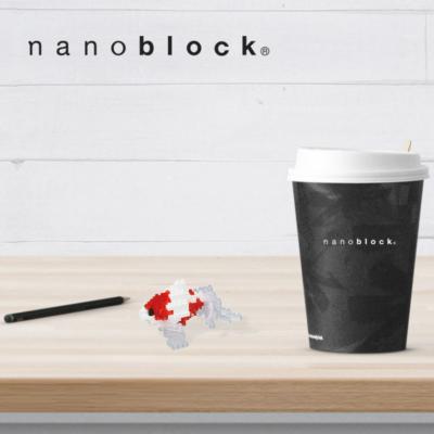 NBC-223 Nanoblock Pesce rosso giapponese