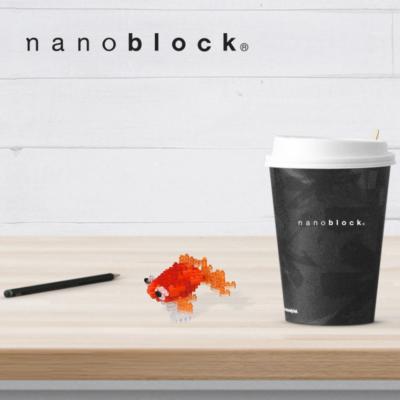 NBC-225 Nanoblock Pesce rosso occhi a bolla