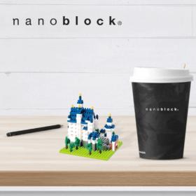 NBH-010 Nanoblock Castello Neuschwanstein