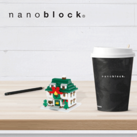 NBH-034 Nanoblock Casa Natalizia
