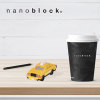 NBH-114 Nanoblock Taxi New York