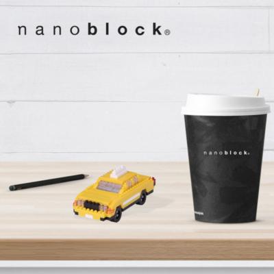 NBH-114 Nanoblock Taxi New York