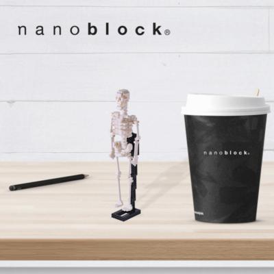 NBM-014 Nanoblock Scheletro umano