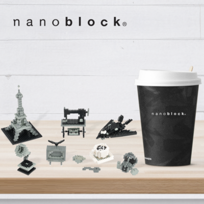 NB-015 Nanoblock Set Colori monotono