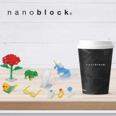 NB-016 Nanoblock Set Colori chiari