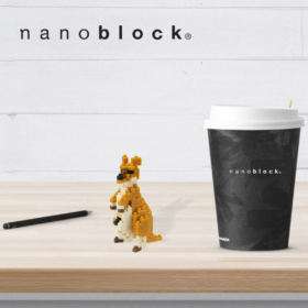 NBC-196 Nanoblock Canguro