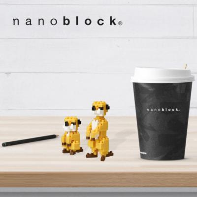 NBC-203 Nanoblock Famiglia Suricati