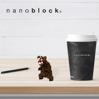 NBC-222 Nanoblock Orso Grizzly
