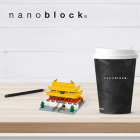 NBH-145 Nanoblock Citta proibita
