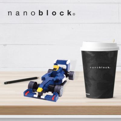 NBM-018 Nanoblock Macchina F1