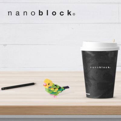 NBC-167 Nanoblock Pappagallino