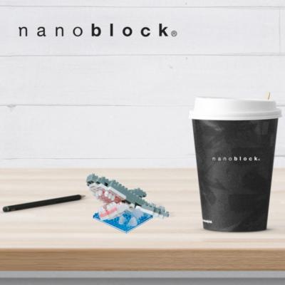 NBC-190 Nanoblock Grande Squalo bianco 2