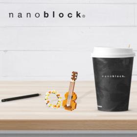 NBC-206 Nanoblock Ukulele