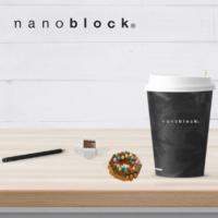 NBC-246 Nanoblock Donut and Coffee