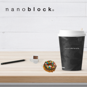 NBC-246 Nanoblock Donut and Coffee